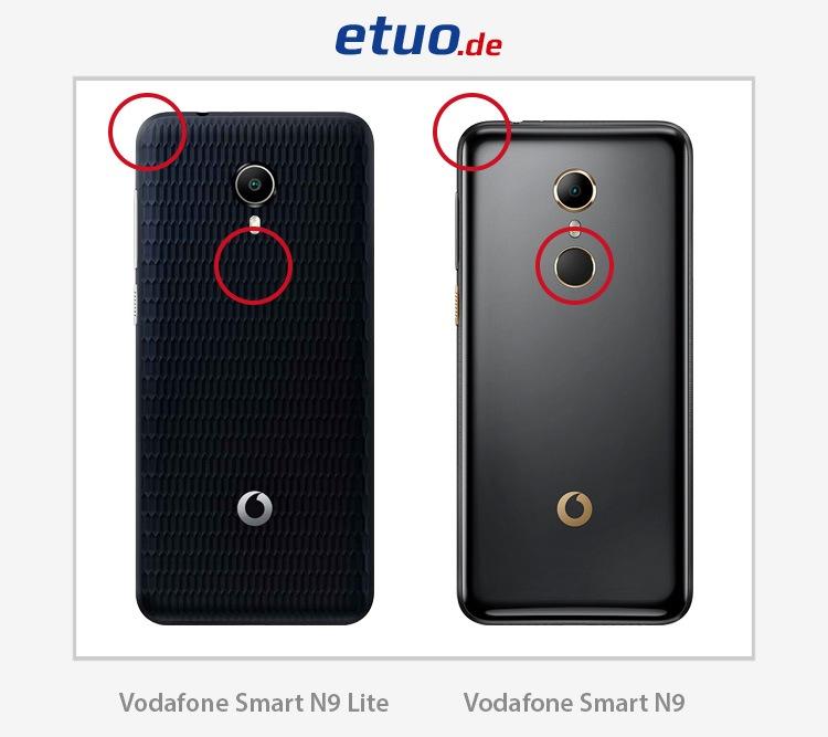 Vodafone Smart N9 und Vodafone Smart N9 Lite - Unterschiede