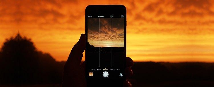zdjęcie robione za pomocą iPhone Apple