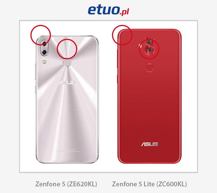 Asus Zenfone 5 ze620kl i 5 Lite ze600kl porównanie