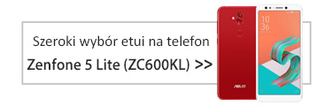 szeroki wybór etui na telefon Zenfone 5 Lite (ZC600KL)