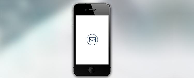 powiadomienie poczty na telefonie