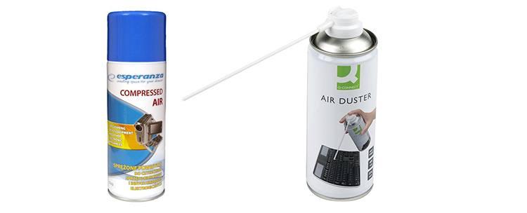 sprężone powietrze do czyszczenia smartfonów