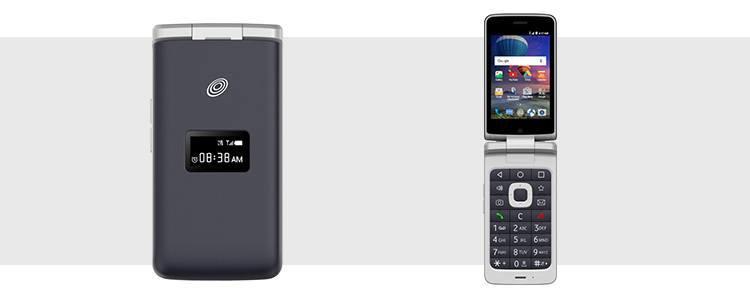 smartfon z klapką ZTE Cymbal-T LTE