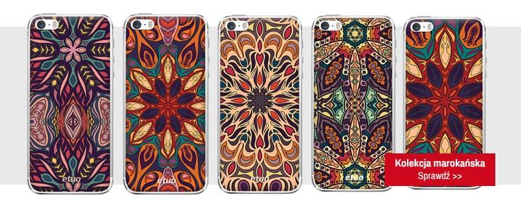 etui na telefon z marokańskim nadrukiem