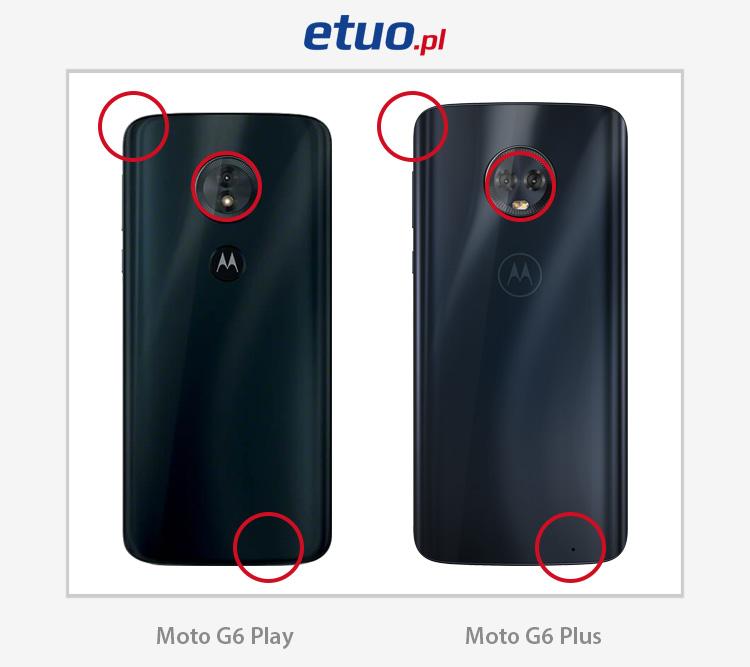 Motorola Moto G6 Play i Moto G6 Plus - porównanie