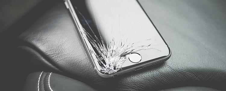 iPhone pęknięty wyświetlacz