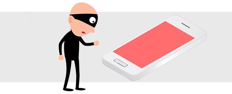 kradziony iPhone