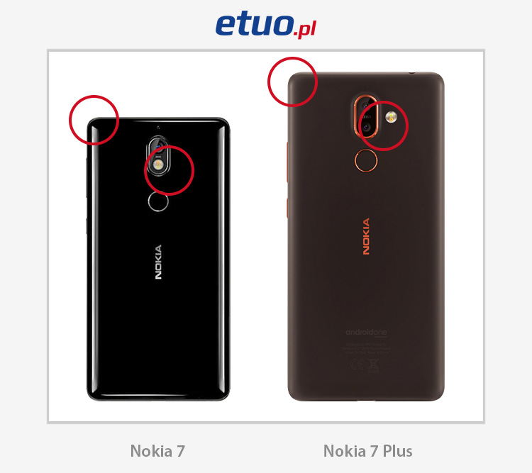 Nokia 7 i Nokia 7 Plus porównanie różnice