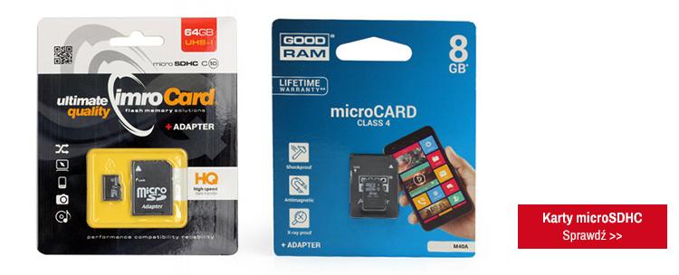 karty microSDHC sprawdź