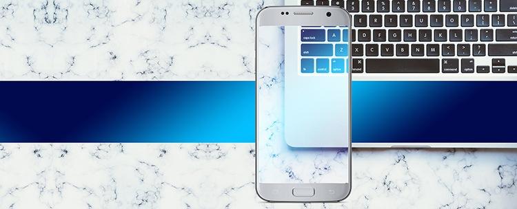 przezroczysty smartfon