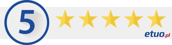 5 gwiazdek dla etui Blun