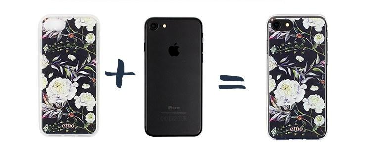 krok 1 jak założyć etui na telefon - czyszczenie urządzenia