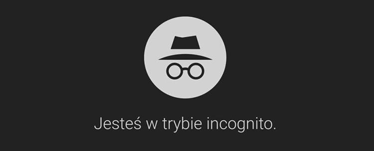 tryb incognito ikonka