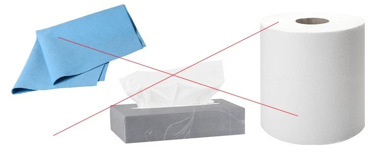czego nie używać do czyszczenia szkła hartowanego