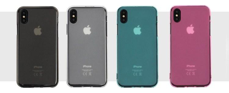 jednokolorowe matowe etui flexmat case na iphone x