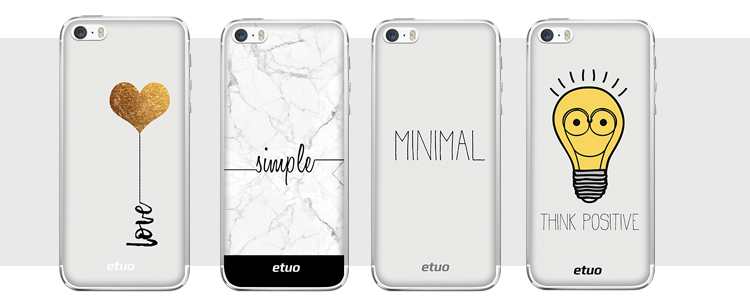 minimalistyczne etui na telefon