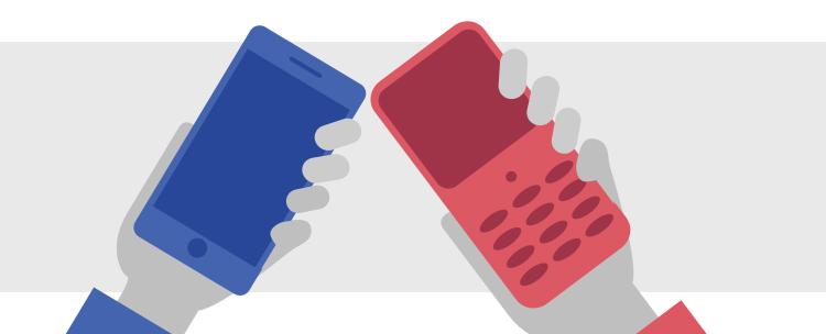 telefony łączące się przez NFC