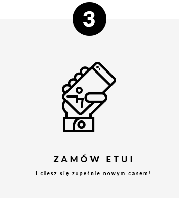 Zamów etui i ciesz się zupełnie nowym casem!